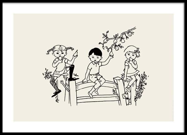 Pippi Longstocking No3 Poster